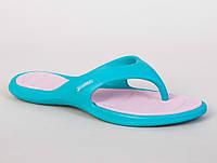 Женские пляжные вьетнамки Rider Island V blue-white IS-04029