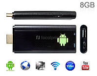 Мини компьютер SMART TV Dongle Auxtek T002 Mini PC Android 1GB/8GB
