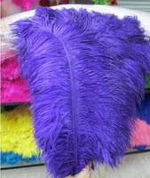 Перо страуса.Цвет Фиолетовый.Размер 45-50cм. Цена за 1шт.