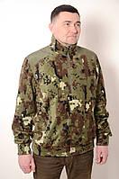 Мужской камуфлированный полар из флиса , 48,50,52,54,56,58 , флиска