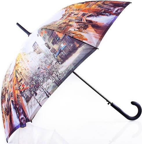 Женский невероятный зонт-трость, полуавтомат ZEST (ЗЕСТ) Z21625-15