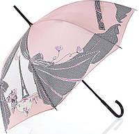 Женский необычный механический зонт-трость GUY de JEAN (Ги де ЖАН), коллекция MISTIGRI FRH13-3