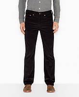 Вельветовые брюки Levis 514 - Black