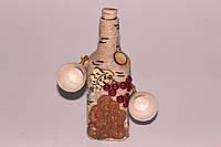 Бутылка-графин в коре с 2-мя рюмками