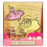 Детская головоломка First Wire Puzzle Set Animals 1