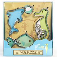 Детская головоломка First Wire Puzzle Set Aquatic