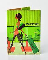 Женская обложка на паспорт