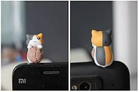 """Заглушка для аудио порта 3,5 мм (ПВХ) """"Котёнок по имени МИКА"""""""