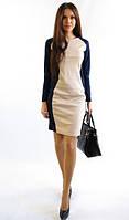 Стильное женское платье весна