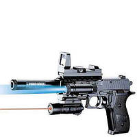 Игровое оружие Пистолет с лазерным прицелом