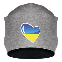 Шапка Украина в сердце