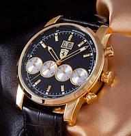 Статусные модные кварцевые часы Ferrari