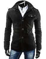 Мужское кашемивровое демисезонное пальто