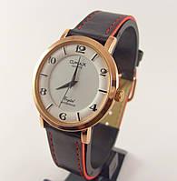 Мужские часы Omax SC7763 золото с черным водозащитные