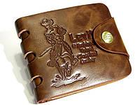 Мужской кожаный портмоне кошелек LEVIS, LEVI'S