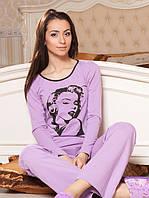 Комплект-пижама женская (4 цвета)