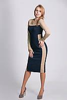 Стильное платье из жаккардовой ткани