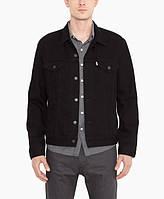 Джинсовая куртка Levis Trucker - Black (L)