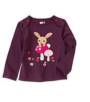 """Реглан для девочки """"Bunny"""".   12-18,  18-24 месяца."""