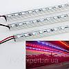 Светодиодная фитолента для подсветки растений 15W 50см. 12V (с блоком питания)