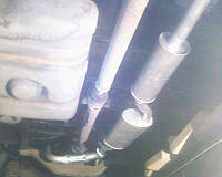 Глушитель Форд Транзит , фото 1