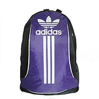 Рюкзак спортивный черно-сиреневый, маленький, фото 1
