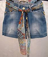Джинсовая юбка для девочек  Лето