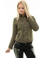Женская весенняя стеганная куртка,модная куртка,куртка женская демисезонная