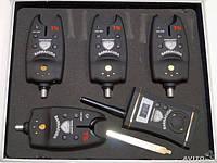 Набор сигнализаторов для рыбалки c пейджером BARRACUDA 4+1