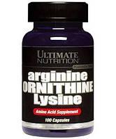 Аминокислоты Arginine Ornithine Lysine (100 caps)