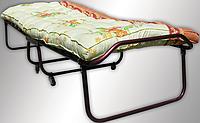 Раскладная кровать с ватным матрасом