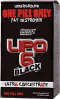 Жиросжигатель Липо 6 блек Lipo 6 black Ultra Concentrate (60 black-caps)