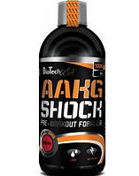 Жидкий Аргинин альфа-кетоглютарат AAKG Shock Extreme (1 l )