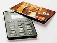 Мини телефон кредитка - Aiek M5.