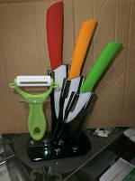 Набор керамических ножей+овощечистка