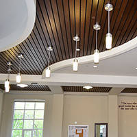 Красивый потолок на кухне? Легко