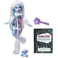 Кукла Монстер Хай Эбби Боминейбл Базовая с питомцем Monster High Abbey Bominable Basic