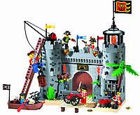 Конструктор Пиратская крепость 366 дет.