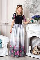 Роскошное летнее платье в пол от производителя