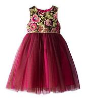 Выпускное платье с юбкой из фатина 2-6 лет