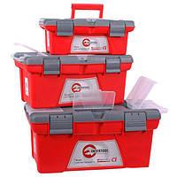 Комплект ящиков для инструмента 3шт, INTERTOOL BX-0403