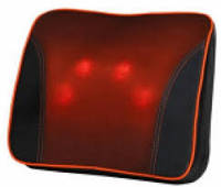 Массажная подушка с инфракрасным подогревом
