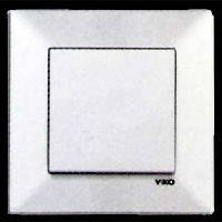 VIKO Выключатель 1-клавишный Meridian, белый (90970001)