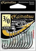 Крючки Kamatsu Maruseigo №6 24-каратное золото
