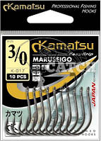 Крючки Kamatsu Maruseigo №10 24-каратное золото