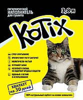 Наполнитель силикагелевый Kotix (Котикс) 3,8л