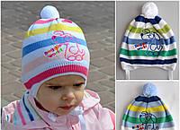 Детская шапка Dog для мальчика и девочки