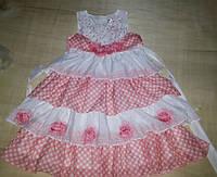 Красивое летнее платье на рост 140-150 см