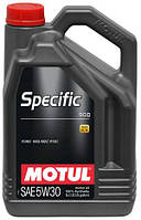 МОТОРНОЕ МАСЛО СИНТЕТИКА Motul Specific 913D 5W30 (5л) FORD  MAZDA  VOLVO  LAND-ROVER  JAGUAR