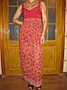 Платье шифоновое в пол 00307